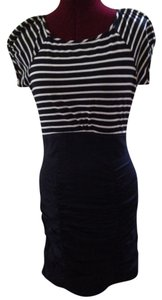 Laundry by Shelli Segal short dress blue Cotton Navy on Tradesy