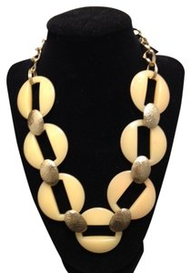 Talbots NWT Gold Bone Necklace -Talbots