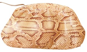 Hala Snakeskin Python Used Shoulder Bag