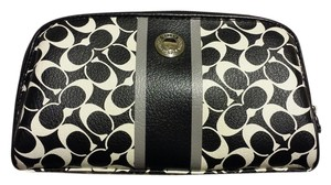 Coach Coach Leather Cosmetic Bag