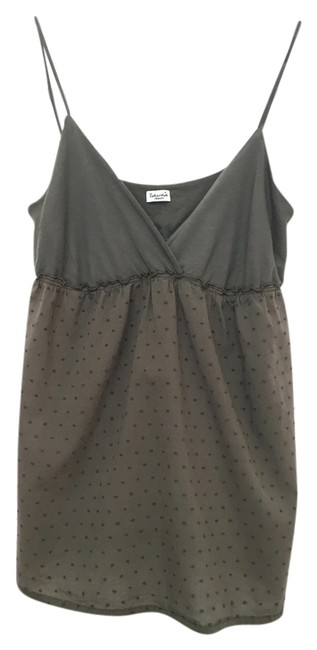 Preload https://item3.tradesy.com/images/splendid-green-contrast-textured-tank-topcami-size-8-m-3625462-0-0.jpg?width=400&height=650