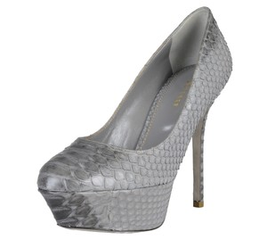 Sergio Rossi Gray Pumps