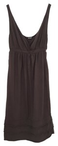 LAmade short dress brown on Tradesy