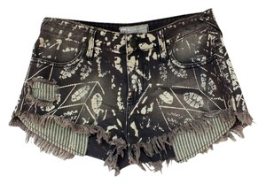 Free People Cut Off Cut Off Shorts brown, grey