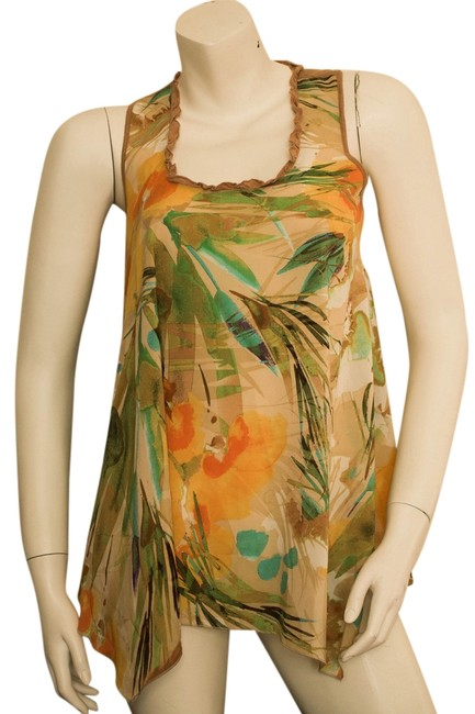 Preload https://item4.tradesy.com/images/other-tropical-tropics-hawaii-tank-top-beige-orange-yellow-green-emerald-turquoise-3626833-0-0.jpg?width=400&height=650