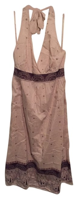 Banana Republic short dress Cream with print on Tradesy