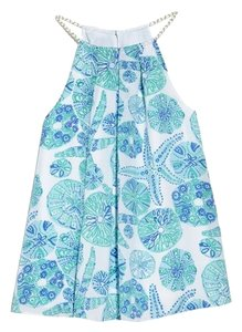 Lilly Pulitzer for Target Blue and White Halter Top