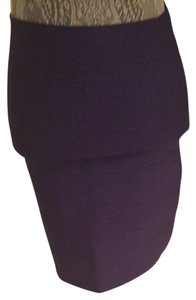 BCBGMAXAZRIA Skirt Purple