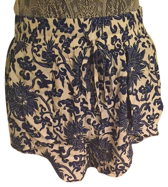 Rumor Boutique Shorts Blue And White