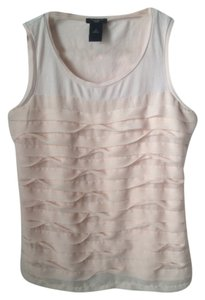 Ann Taylor Summer Lace Top Light pink