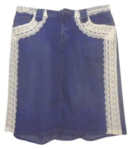 Too She-She Skirt Blue