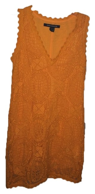 Preload https://item5.tradesy.com/images/french-connection-dress-orange-3628129-0-2.jpg?width=400&height=650