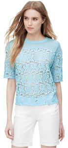 Ann Taylor LOFT Top light blue