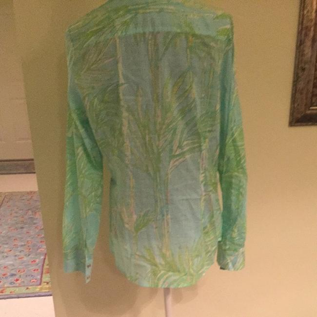 Lilly Pulitzer Button Down Shirt Multi Color