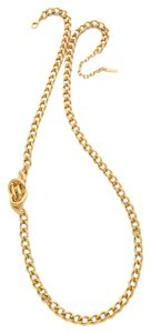 Rachel Zoe Rachel Zoe Love Me Knot Long Single Knot Necklace