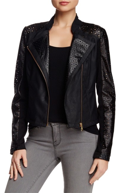 Preload https://item3.tradesy.com/images/steve-madden-black-perforated-sleeve-faux-moto-leather-jacket-size-12-l-3630097-0-0.jpg?width=400&height=650