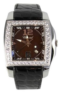 Chopard Ladies Chopard Two O Ten 138464-2001 Brown Dial Swiss Quartz Watch
