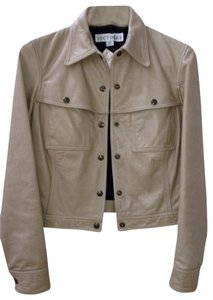 Sand Leather Jacket