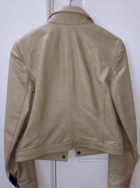 Other Sand Leather Jacket