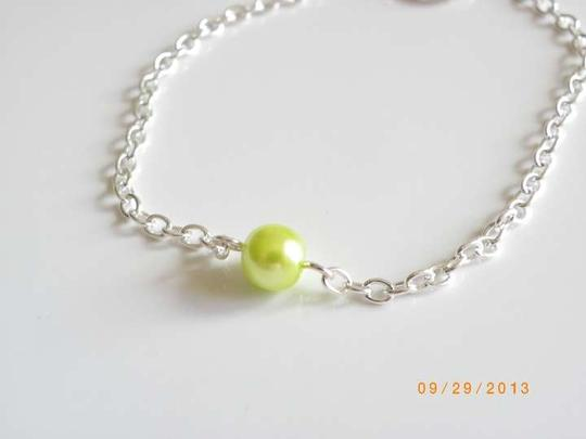 Other Single Glass green Pearl Bracelet Jewelry