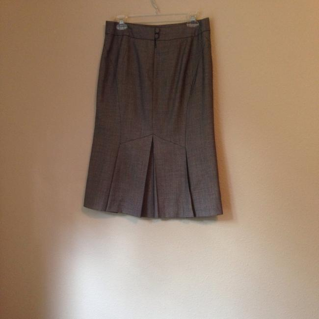Ann Taylor LOFT Skirt Black And White Pattern