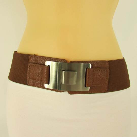 Preload https://item2.tradesy.com/images/other-women-hip-brown-waist-fashion-belt-silver-metal-plate-clasp-buckle-3631681-0-0.jpg?width=440&height=440