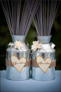 ChiKaPea 2 Milk Can Sparkler Holders Other