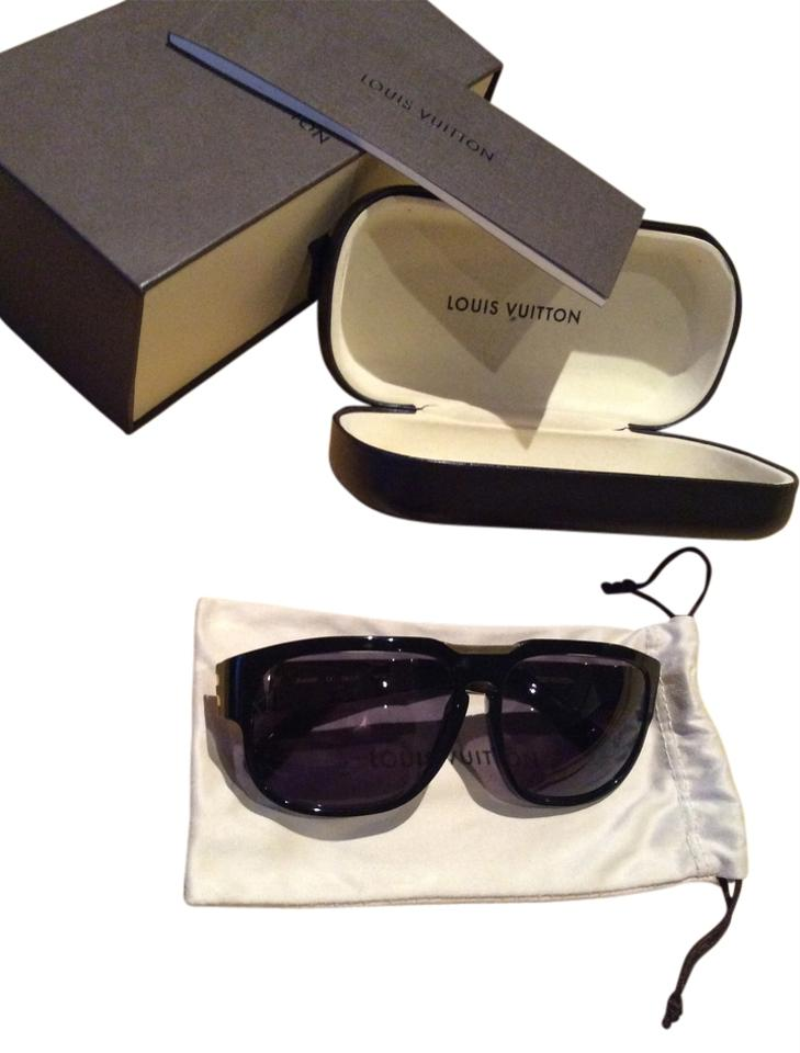 db961320da3 Louis Vuitton RARE LOUIS VUITTON ATTIRANCE SUNGLASSES Z0430W Black w  Gold  Arms Image 0 ...