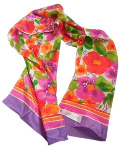 Echo Design Echo Silk Scarf with Flowers