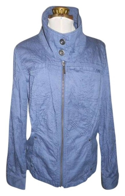 Preload https://item3.tradesy.com/images/coldwater-creek-denim-blue-shirt-jacket-blouse-size-12-l-363262-0-0.jpg?width=400&height=650