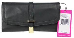 Vince Camuto * Vince Camuto Molly Checkbook Wallet - Black