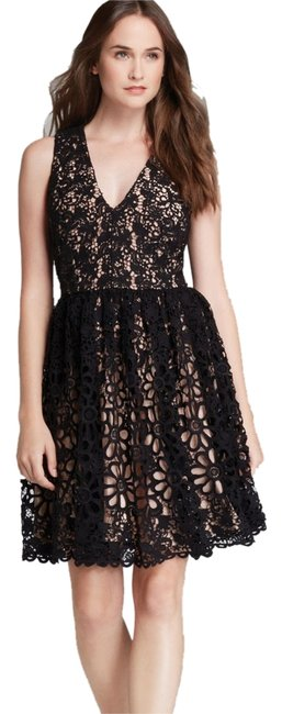 Preload https://item3.tradesy.com/images/french-connection-lace-dress-black-and-nude-3633652-0-0.jpg?width=400&height=650