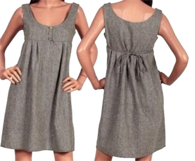 Preload https://item5.tradesy.com/images/gray-sleeveless-babydoll-romper-above-knee-workoffice-dress-size-10-m-3633799-0-0.jpg?width=400&height=650