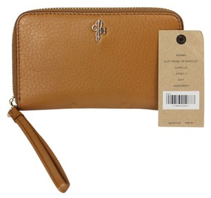 Cole Haan Cole Haan Pebbled Leather Wristlet