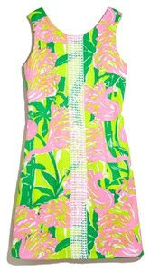 a2ba90bacb8 Lilly Pulitzer for Target Fan Dance Shift Above Knee Short Casual ...