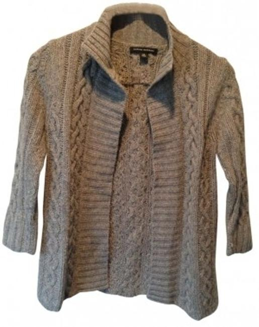 Preload https://item1.tradesy.com/images/banana-republic-gray-cable-knit-cardigan-size-2-xs-36340-0-0.jpg?width=400&height=650