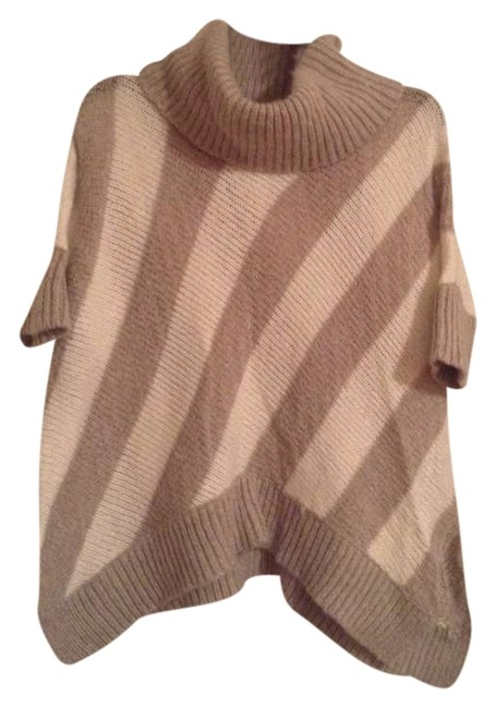 Item - Cream and Brown Stripe Sweater