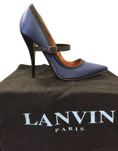 VINTAGE LANVIN NAVY/BLACK Pumps