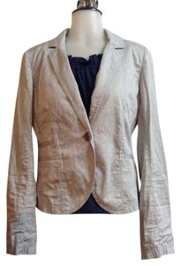 Caslon Dot Light Dot Dot Blazer Nordstrom Grey/ white polka dots Jacket