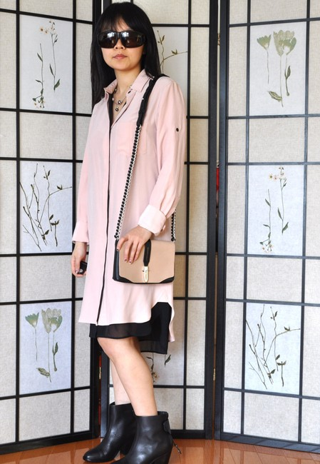 Rag & Bone Shirt Shirtdress Dress