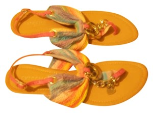 Eddie Marc multi/silver Sandals