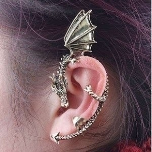 Other Dragon Ear Cuff Cartilage Wrap Earring Jewelry