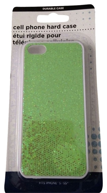 Item - Sparkly Lime Green Iphone 5 Hard Tech Accessory