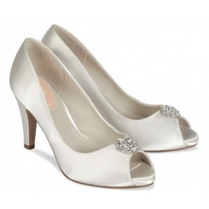 Paradox London Pink Lustre Wedding Shoes