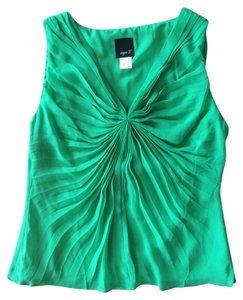Aryn K Bright Top Green
