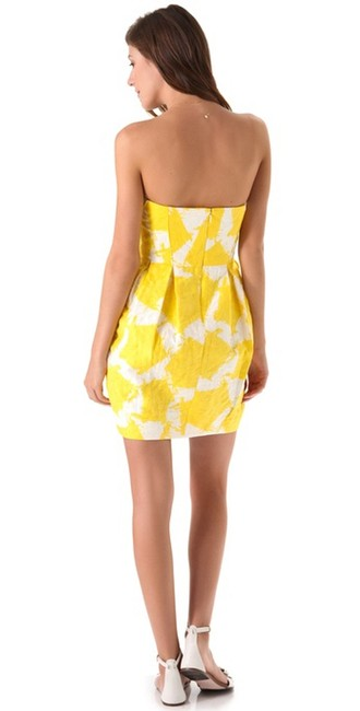 Shoshanna short dress Pleated Print Summer on Tradesy