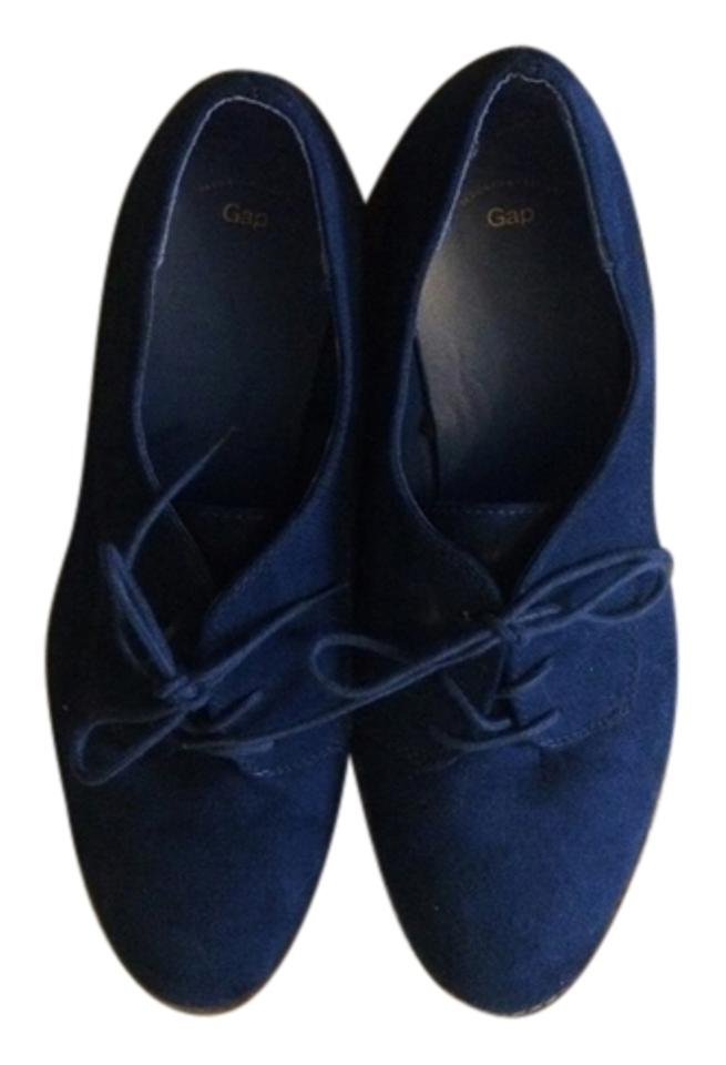 6629ea41333b2 Gap Royal Blue Suede Oxfords Laceups Flats Size US 10 Regular (M, B) 16%  off retail