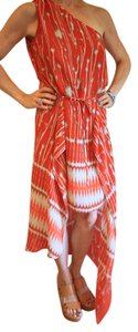 Orange Maxi Dress by BCBGMAXAZRIA