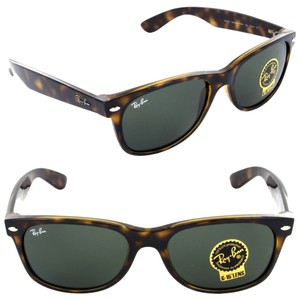 346203cd93 Ray-Ban Authentic Ray-Ban RB2132 New Wayfarer G-15 Dark Green Lens