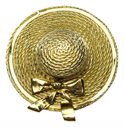 Chanel Chanel Vintage Hat Brooch